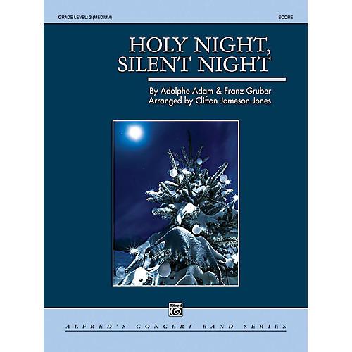 Alfred Holy Night, Silent Night Concert Band Grade 3 Set thumbnail