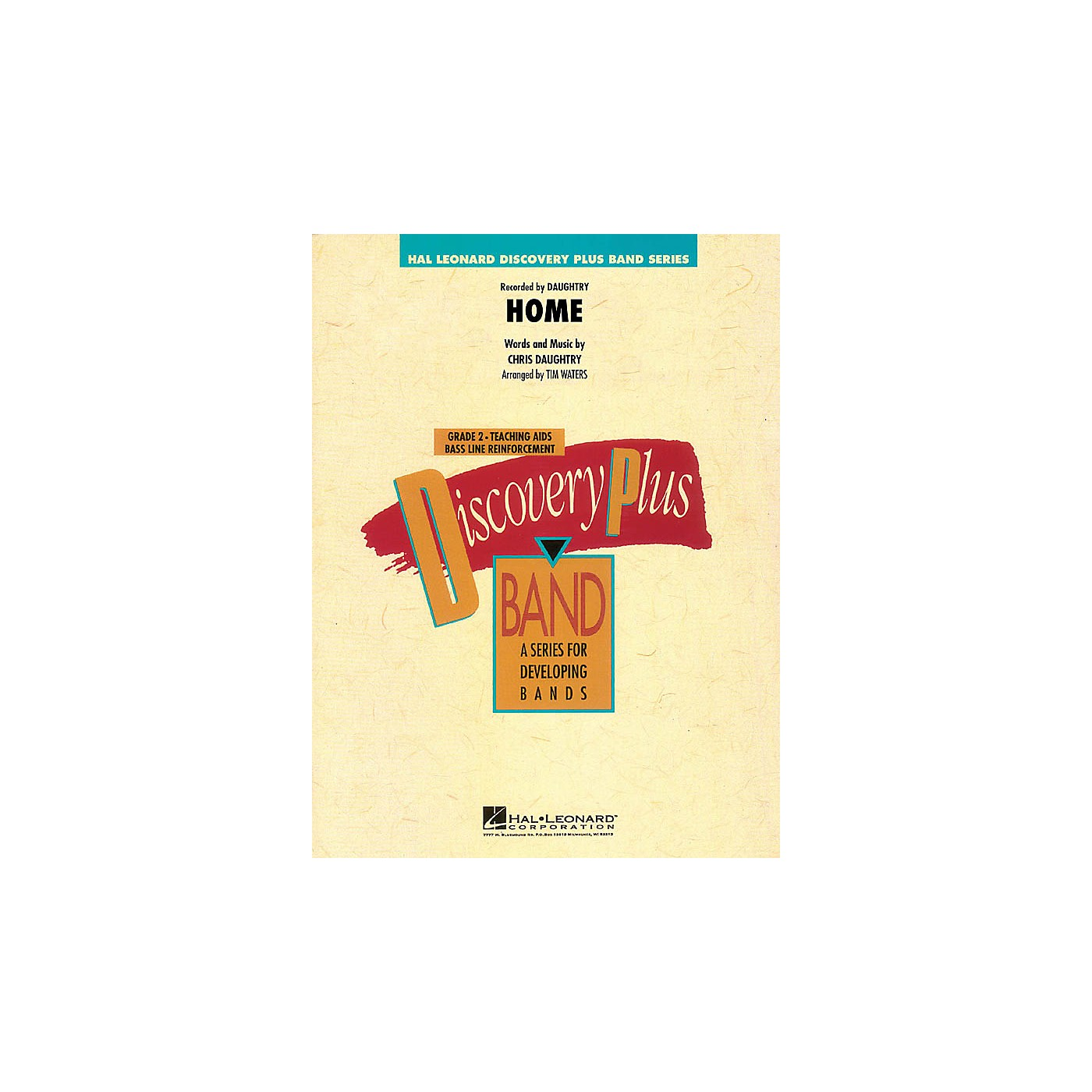Hal Leonard Home - Discovery Plus Band Level 2 arranged by Tim Waters thumbnail