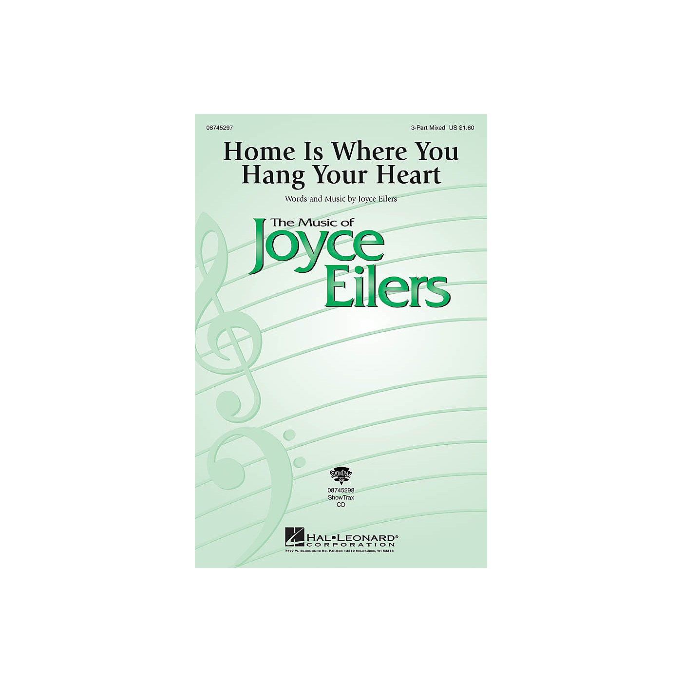 Hal Leonard Home Is Where You Hang Your Heart 3-Part Mixed composed by Joyce Eilers thumbnail