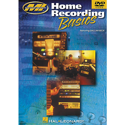 Musicians Institute Home Recording Basics (DVD) thumbnail