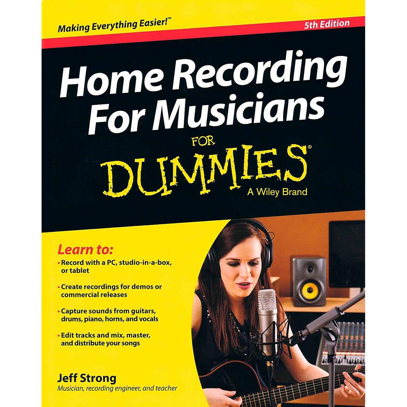 Hal Leonard Home Recording For Musicians For Dummies 5th Edition thumbnail