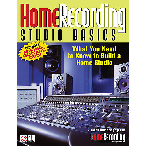 Cherry Lane Home Recording Studio Basics Book Series Softcover with DVD Written by Various Authors thumbnail