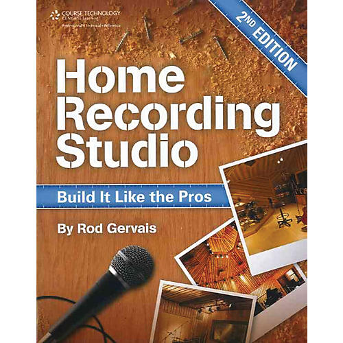 Course Technology PTR Home Recording Studio Build It Like The Pros Book thumbnail
