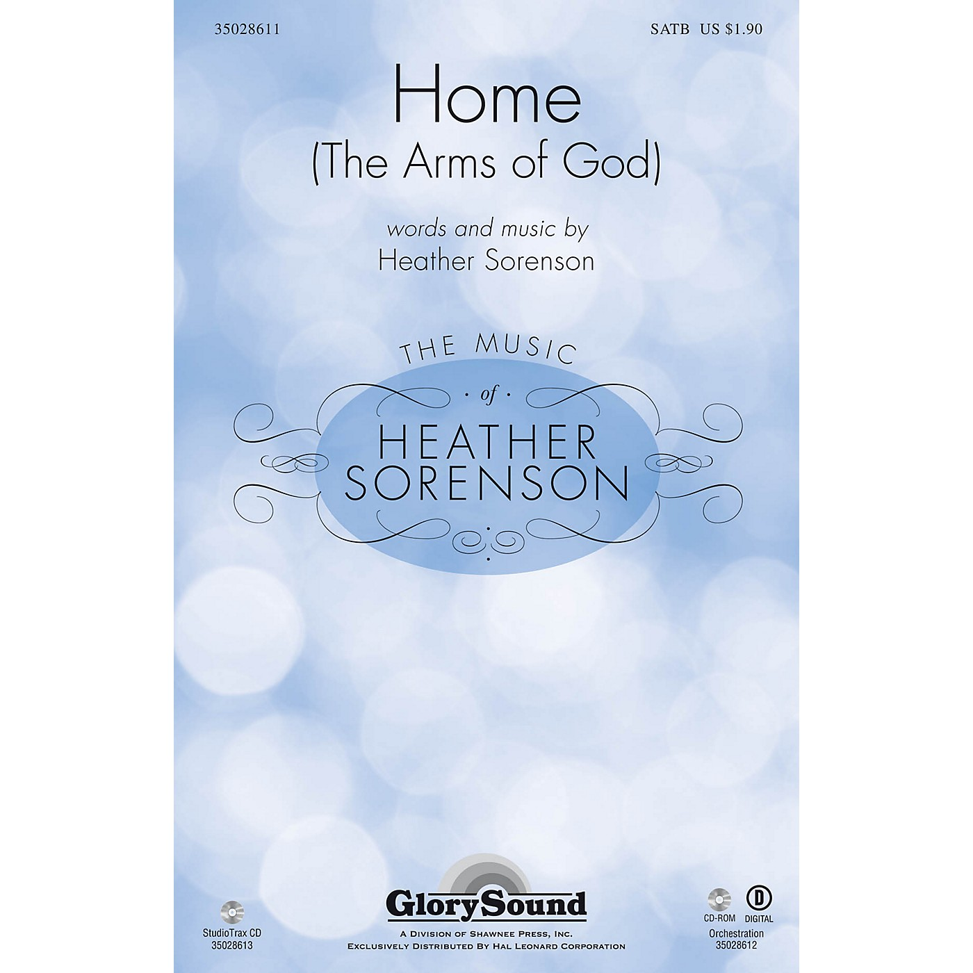Shawnee Press Home (The Arms of God) Studiotrax CD Composed by Heather Sorenson thumbnail
