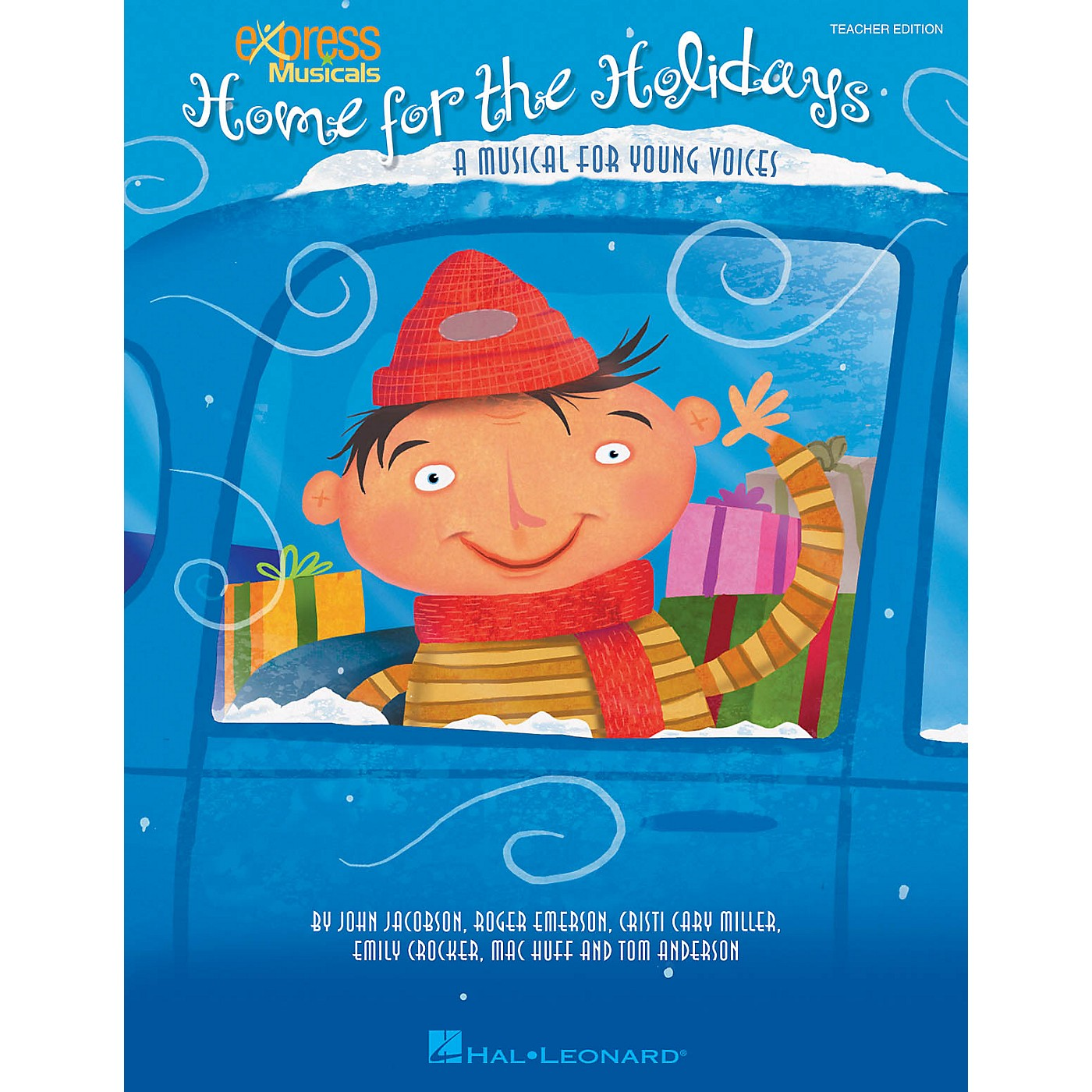 Hal Leonard Home for the Holidays (A Musical for Young Voices) singer 20 pak Composed by Roger Emerson thumbnail