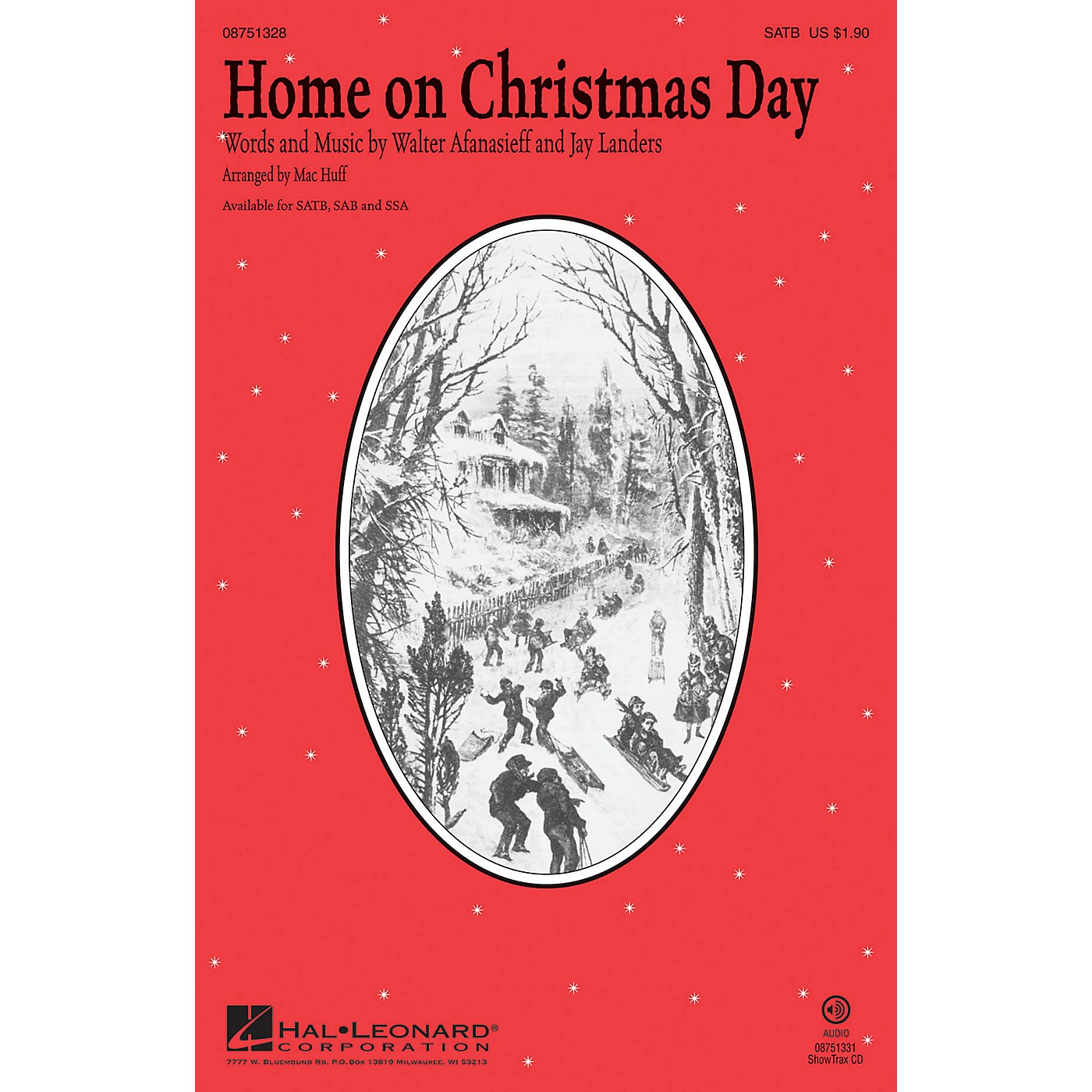 Hal Leonard Home on Christmas Day SSA by Kristin Chenoweth Arranged by Mac Huff thumbnail