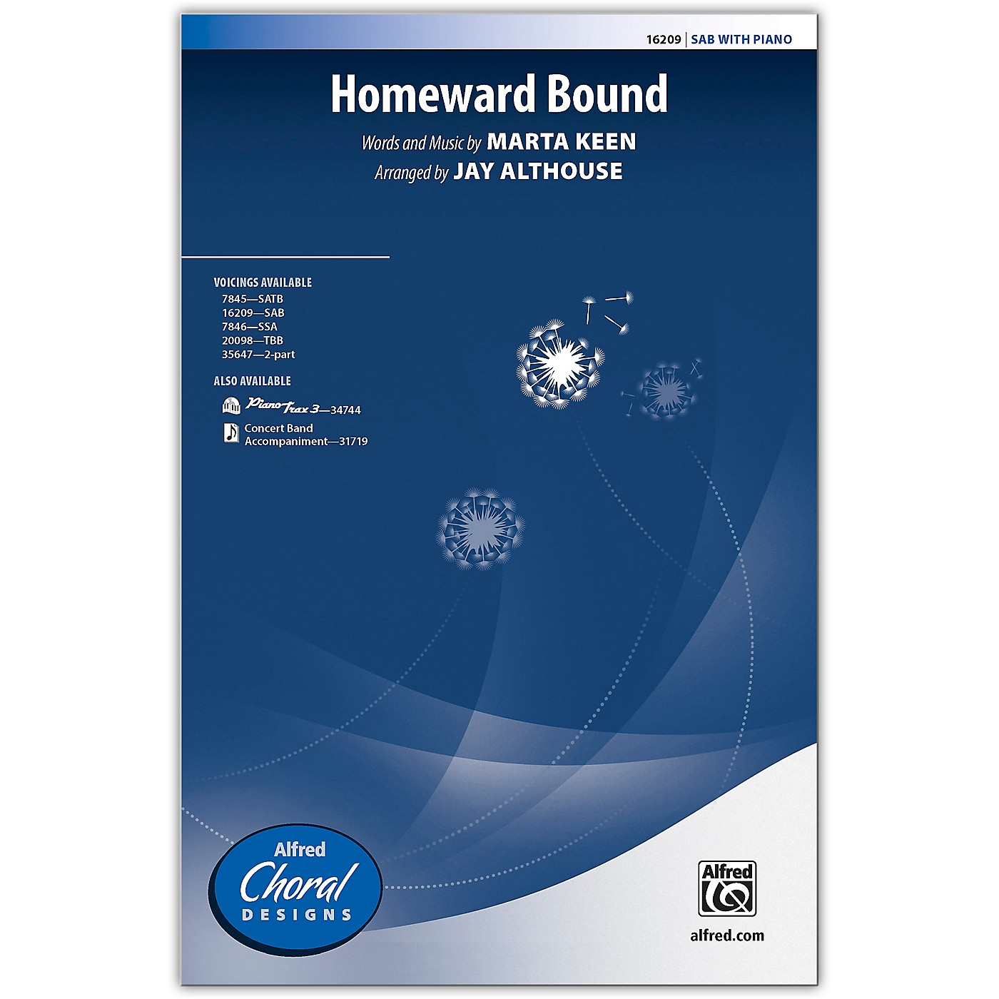 Alfred Homeward Bound SAB Choral Octavo thumbnail