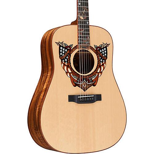 Martin Homeward Bound (Sailor Jerry) Dreadnought Acoustic Guitar thumbnail