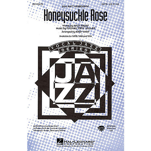 Hal Leonard Honeysuckle Rose (from Ain't Misbehavin') IPAK Dixie Arranged by Kirby Shaw thumbnail