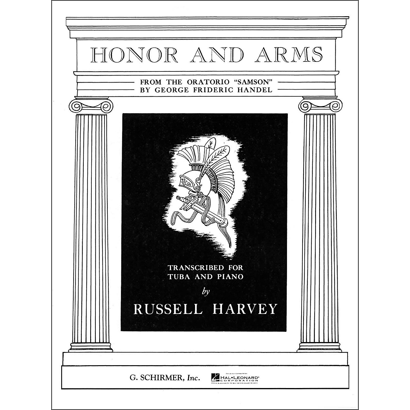 G. Schirmer Honor And Arms From The Oratorio Samson for Tuba And Piano thumbnail
