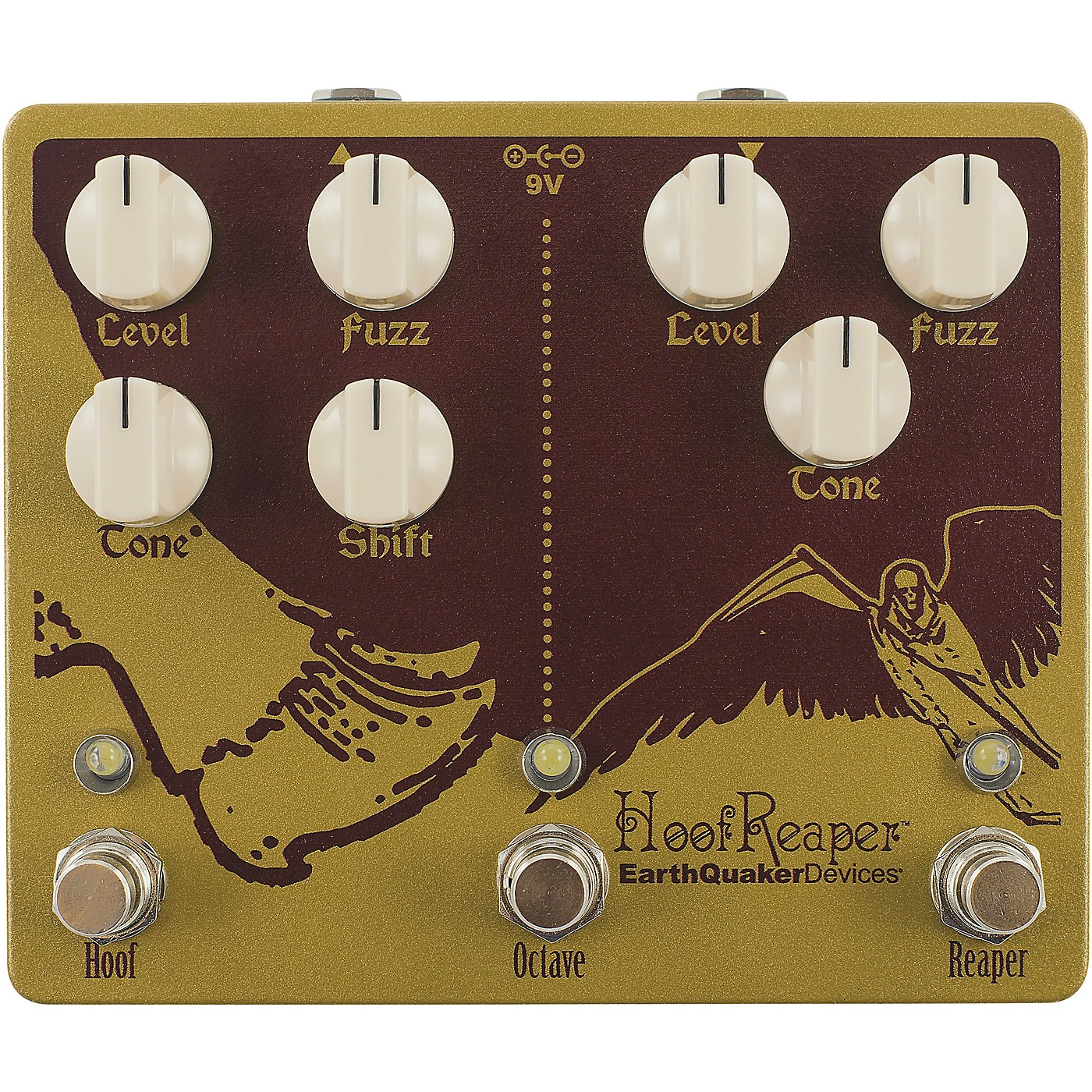 Earthquaker Devices Hoof Reaper V2 Effects Pedal thumbnail