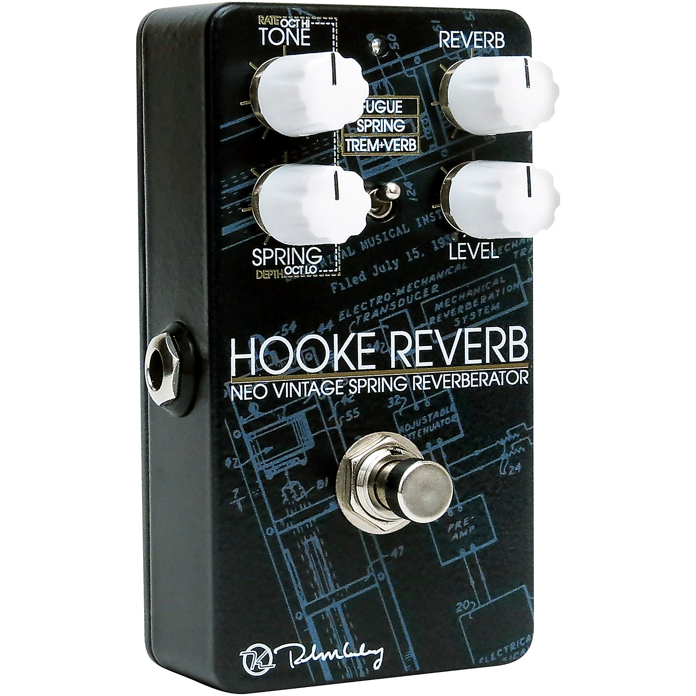 Keeley Hooke Spring Reverb Effects Pedal thumbnail