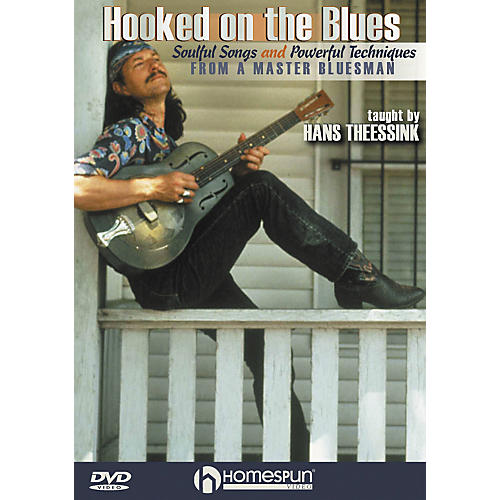 Homespun Hooked on the Blues - Dynamic Guitar Techniques (DVD) thumbnail