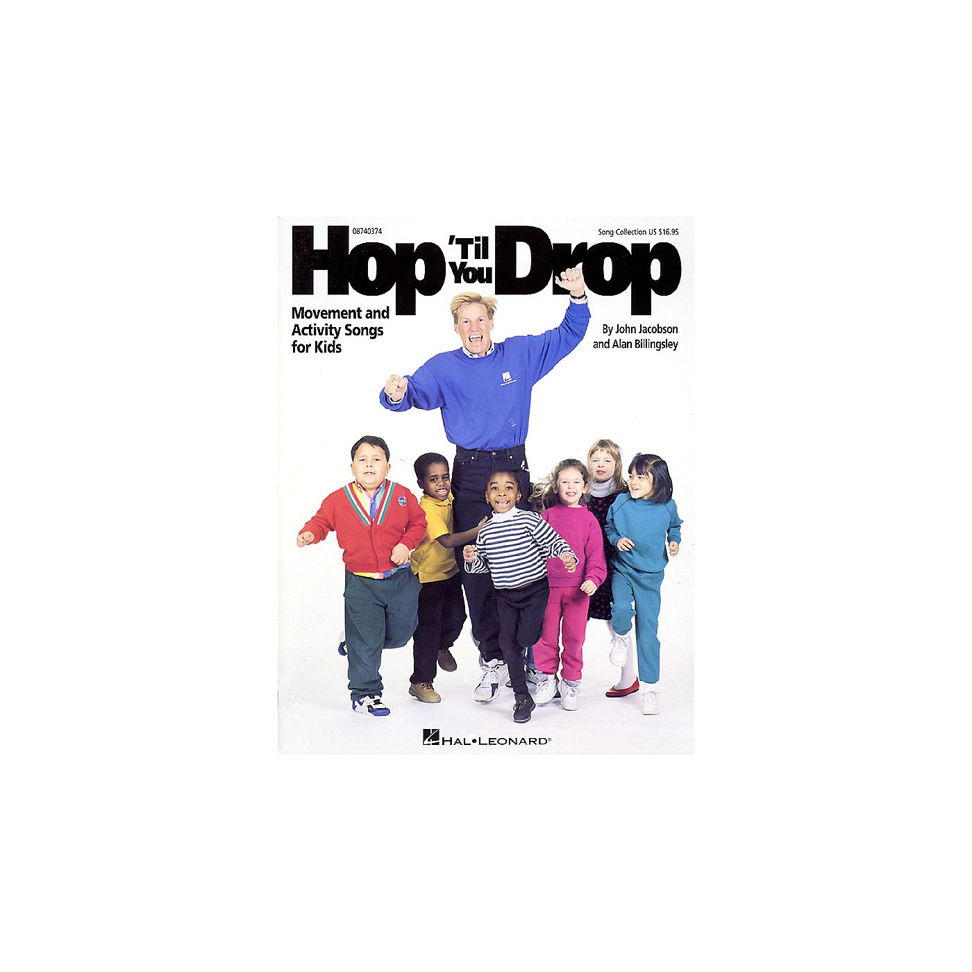 Hal Leonard Hop 'Til You Drop (Movement and Activity Collection) Listening CD Composed by John Jacobson thumbnail