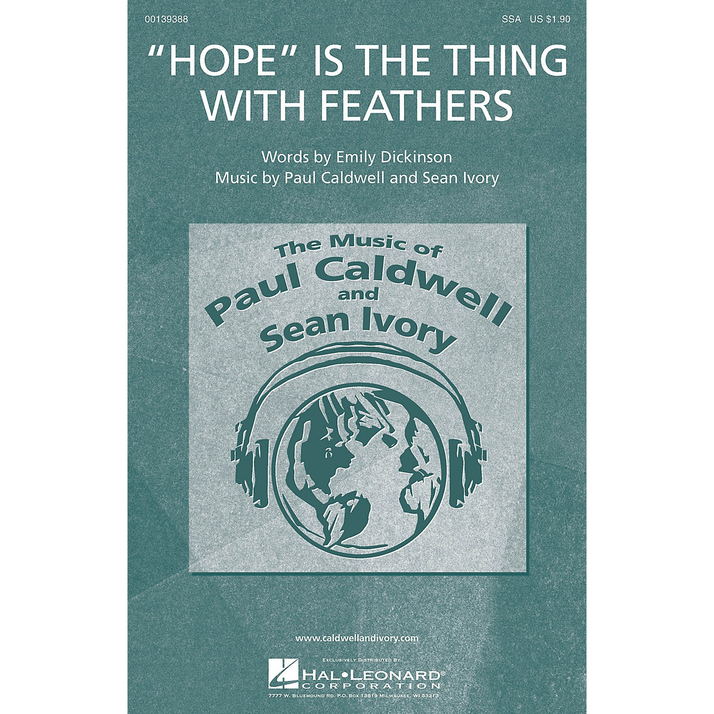 Caldwell/Ivory Hope Is the Thing with Feathers SSA composed by Paul Caldwell thumbnail