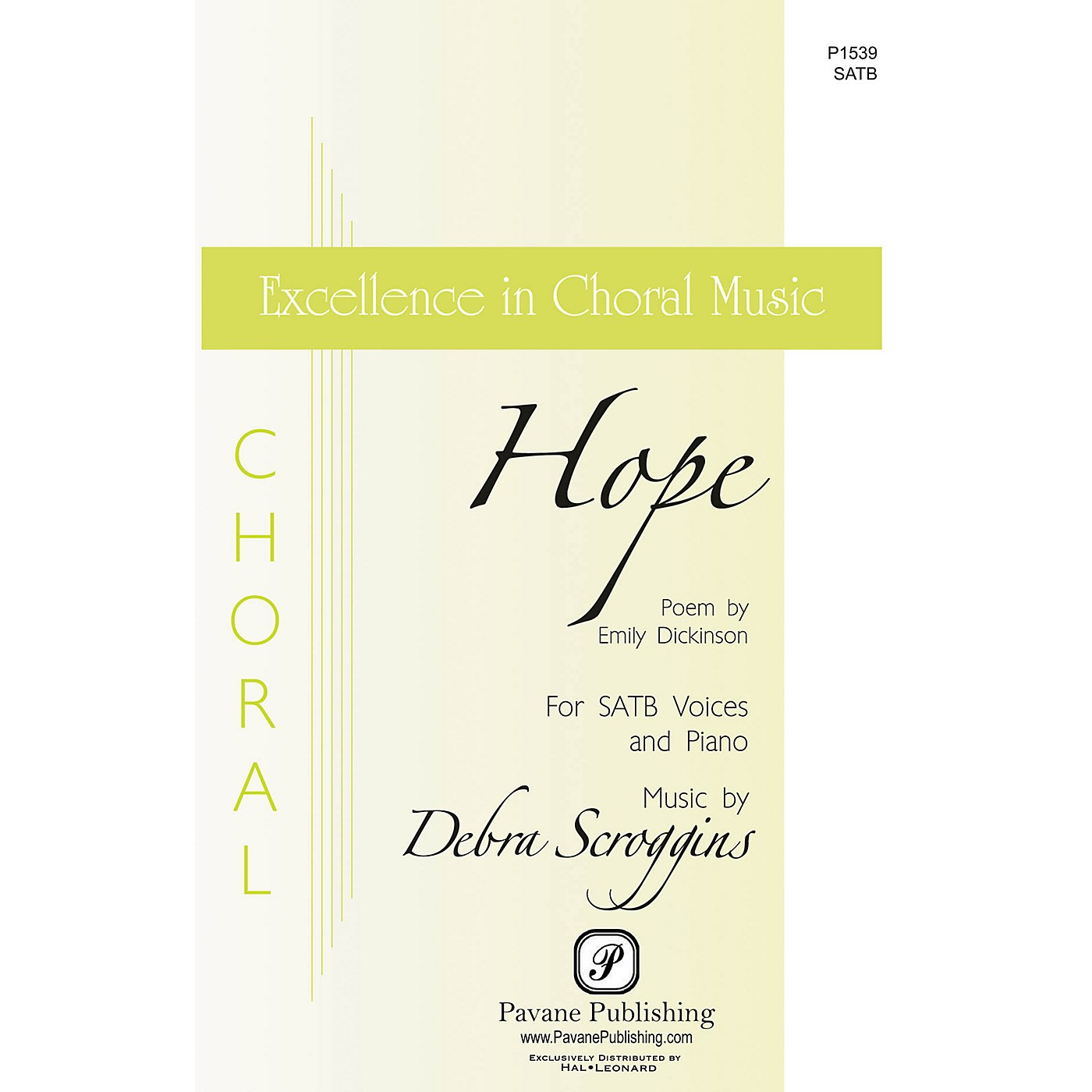 Pavane Hope SATB composed by Debra Scroggins thumbnail