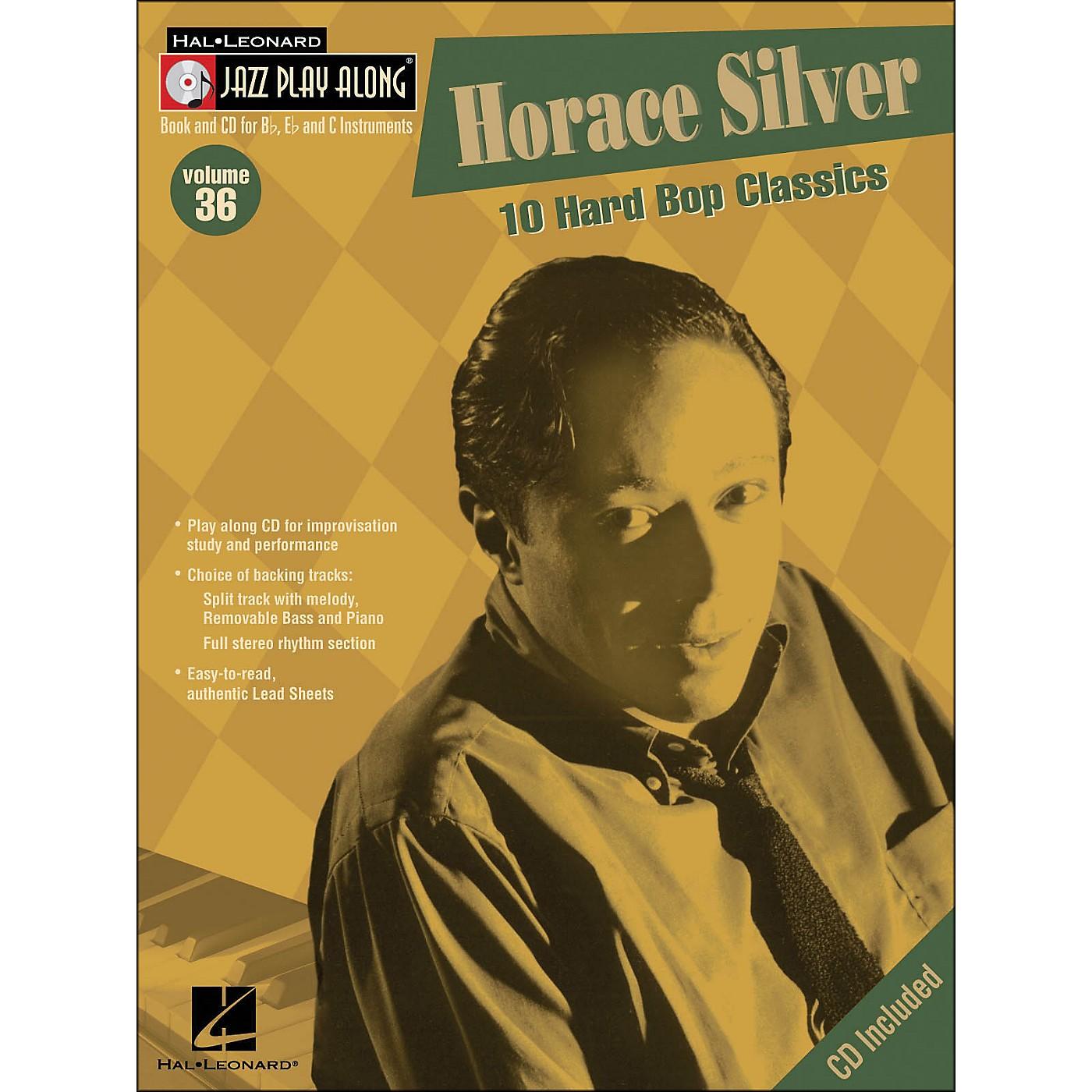 Hal Leonard Horace Silver Volume 36 Book/CD Jazz Play Along thumbnail