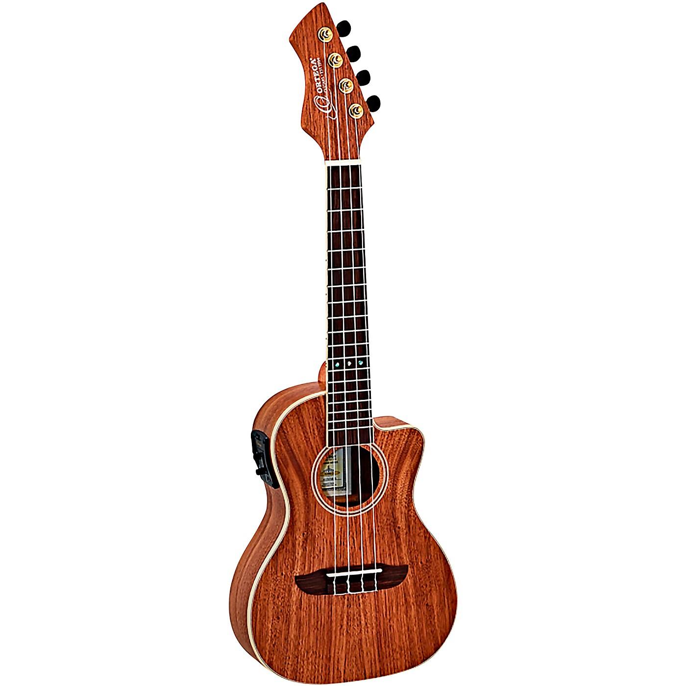 Ortega Horizon Series RUWN-CE Walnut Concert Acoustic-Electric Ukulele thumbnail