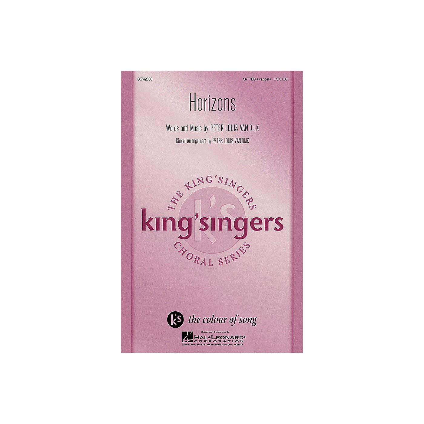 Hal Leonard Horizons SATTBB A Cappella arranged by Peter Louis van Dijk thumbnail