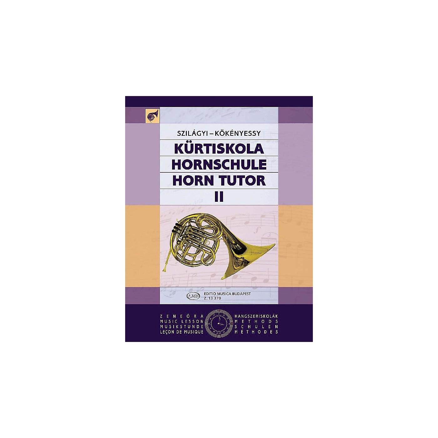 Editio Musica Budapest Horn Tutor Volume 2 EMB Series by Pálma Szilágyi thumbnail