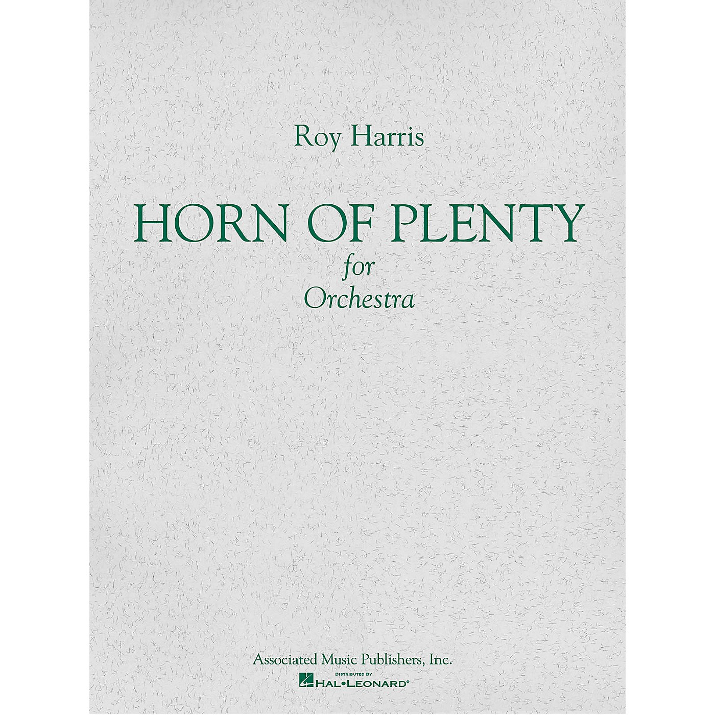 Associated Horn of Plenty (1964) (Study Score) Study Score Series Composed by Roy Harris thumbnail