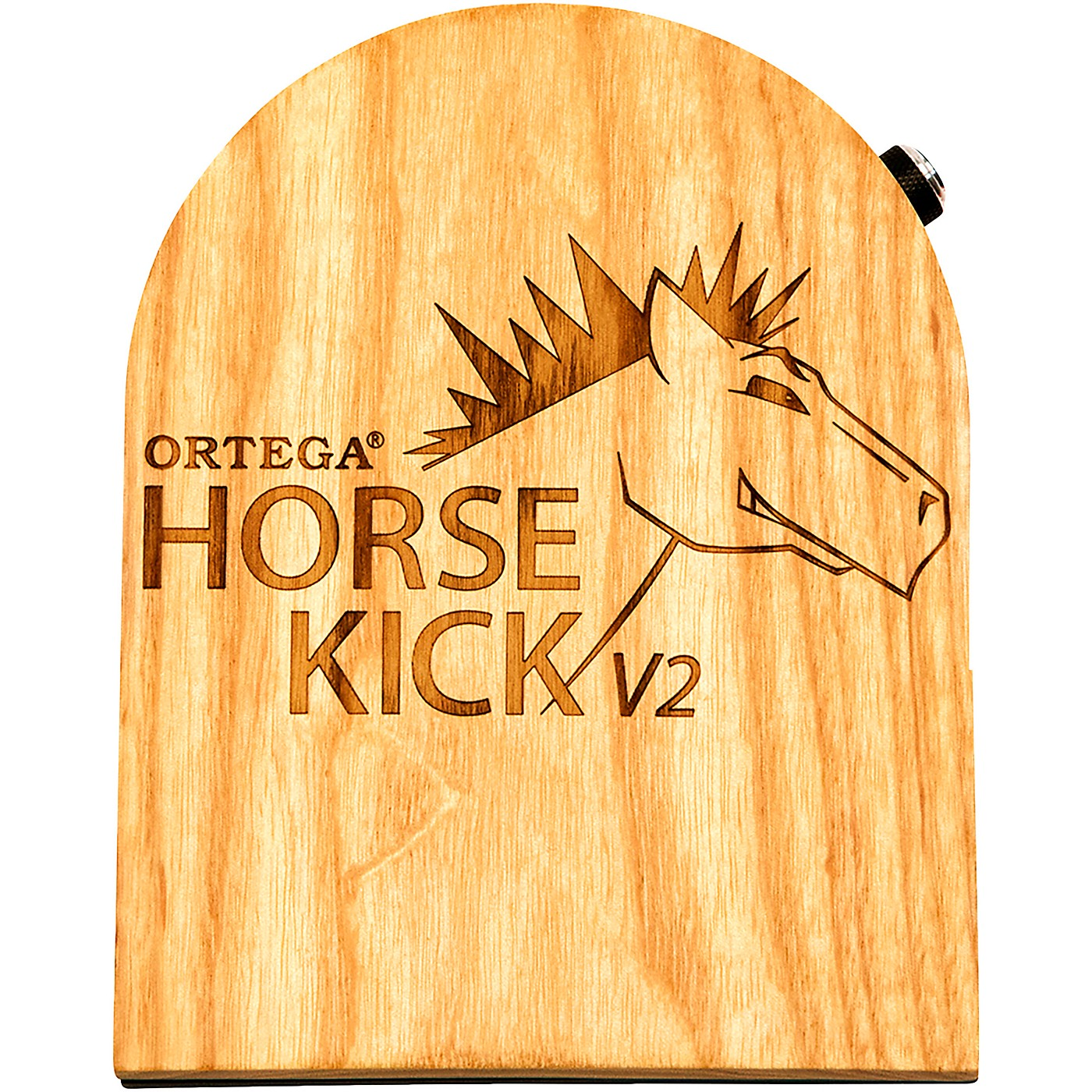 Ortega Horse Kick V2 Digital Guitarist Stomp Box with Cajon Bass Sample thumbnail