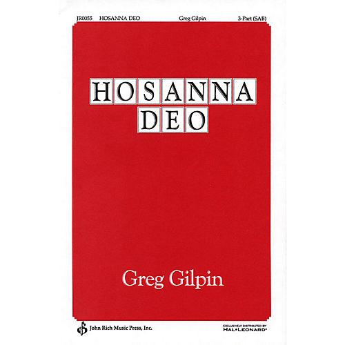 Pavane Hosanna Deo! SAB composed by Greg Gilpin thumbnail