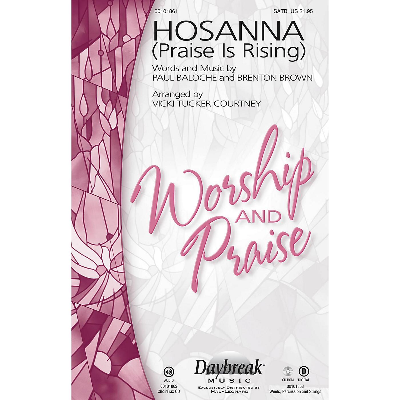 Daybreak Music Hosanna (Praise Is Rising) SATB by Paul Baloche arranged by Vicki Tucker Courtney thumbnail