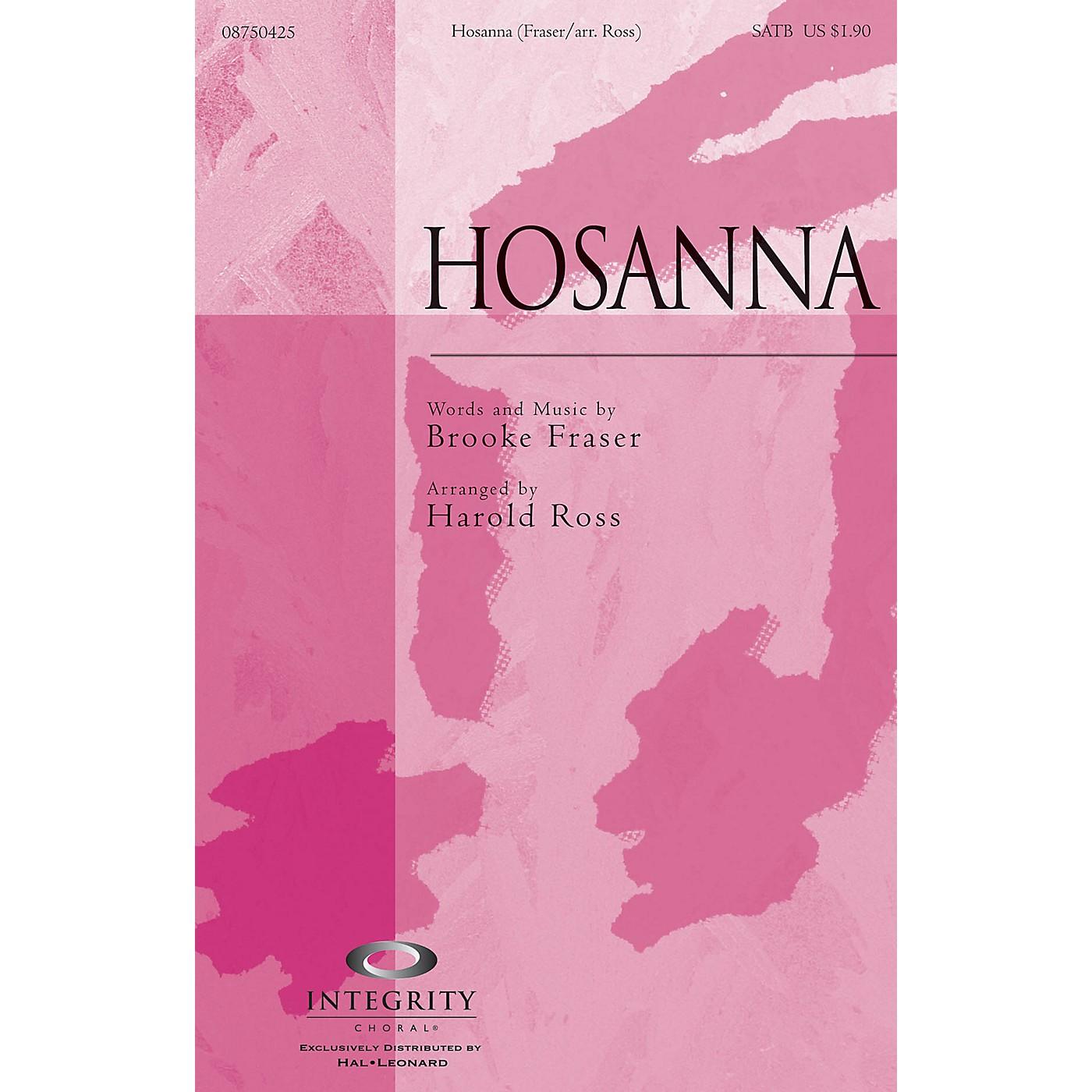 Integrity Choral Hosanna SATB Arranged by Harold Ross thumbnail