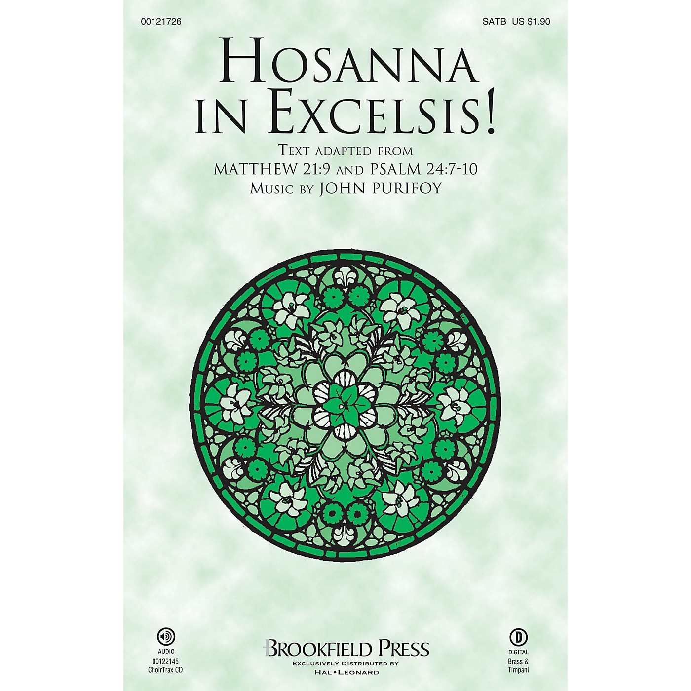 Brookfield Hosanna in Excelsis! CHOIRTRAX CD Composed by John Purifoy thumbnail