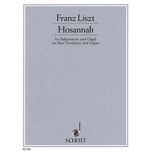 Schott Hosannah Schott Series Composed by Franz Liszt thumbnail