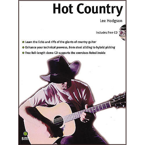 Sanctuary Hot Country: A Comprehensive Guide To Lead And Rhythm Country Guitar Playing Book and CD thumbnail