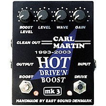 Carl Martin Hot Drive 'N Boost mk 3 Pedal
