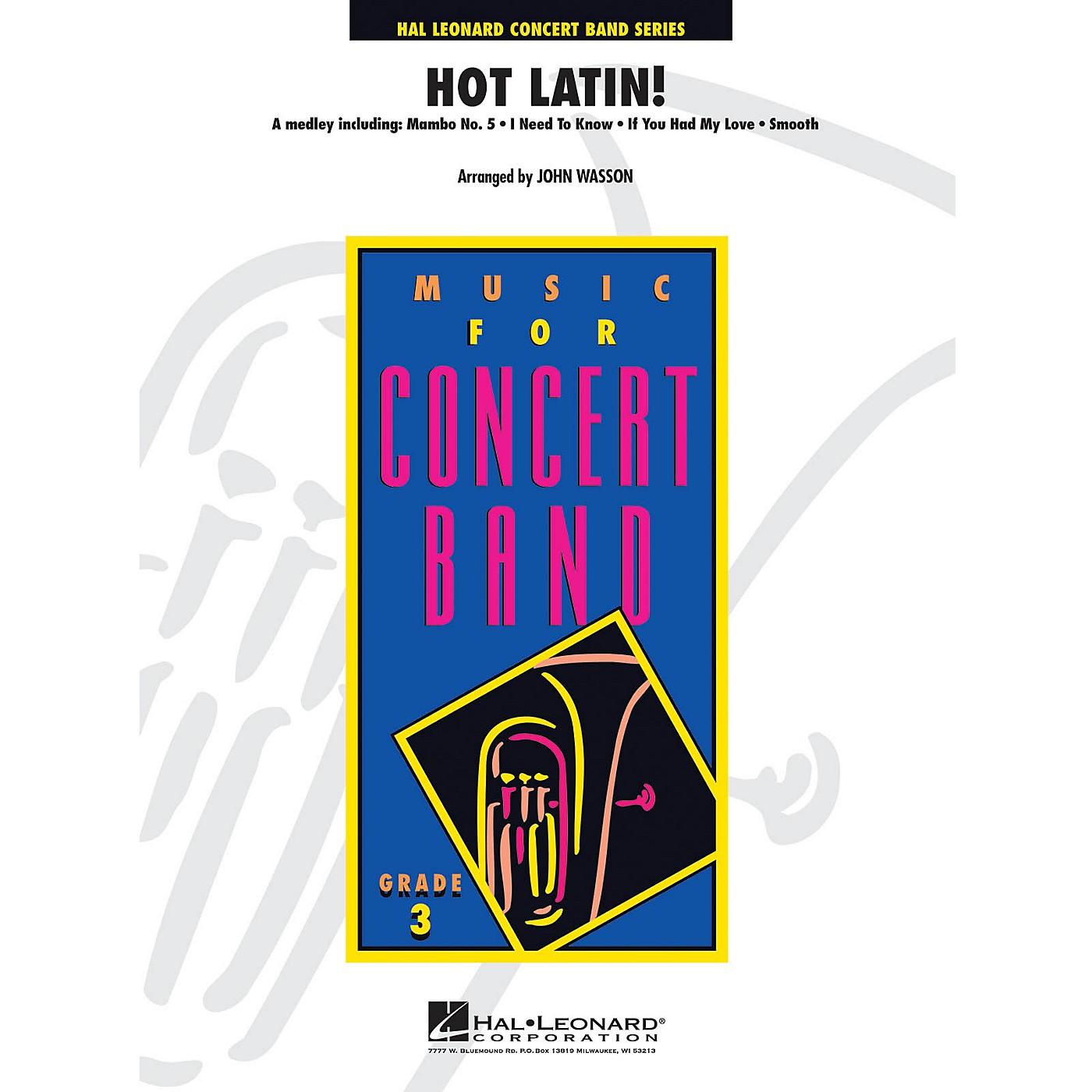 Hal Leonard Hot Latin! - Young Concert Band Level 3 by John Wasson thumbnail