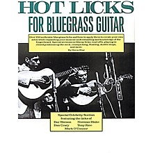 Music Sales Hot Licks for Bluegrass Guitar Music Sales America Series Softcover Written by Orrin Star