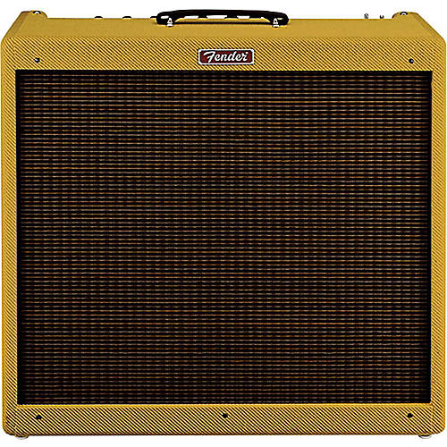 Fender Hot Rod DeVille III 60W Tweed 4x10 Tube Guitar Combo Amp thumbnail
