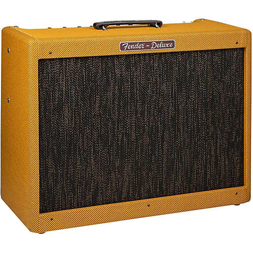 Fender Hot Rod Deluxe Lacquered Tweed, 40-Watt 1x12 Tube Guitar Combo Amplifier thumbnail