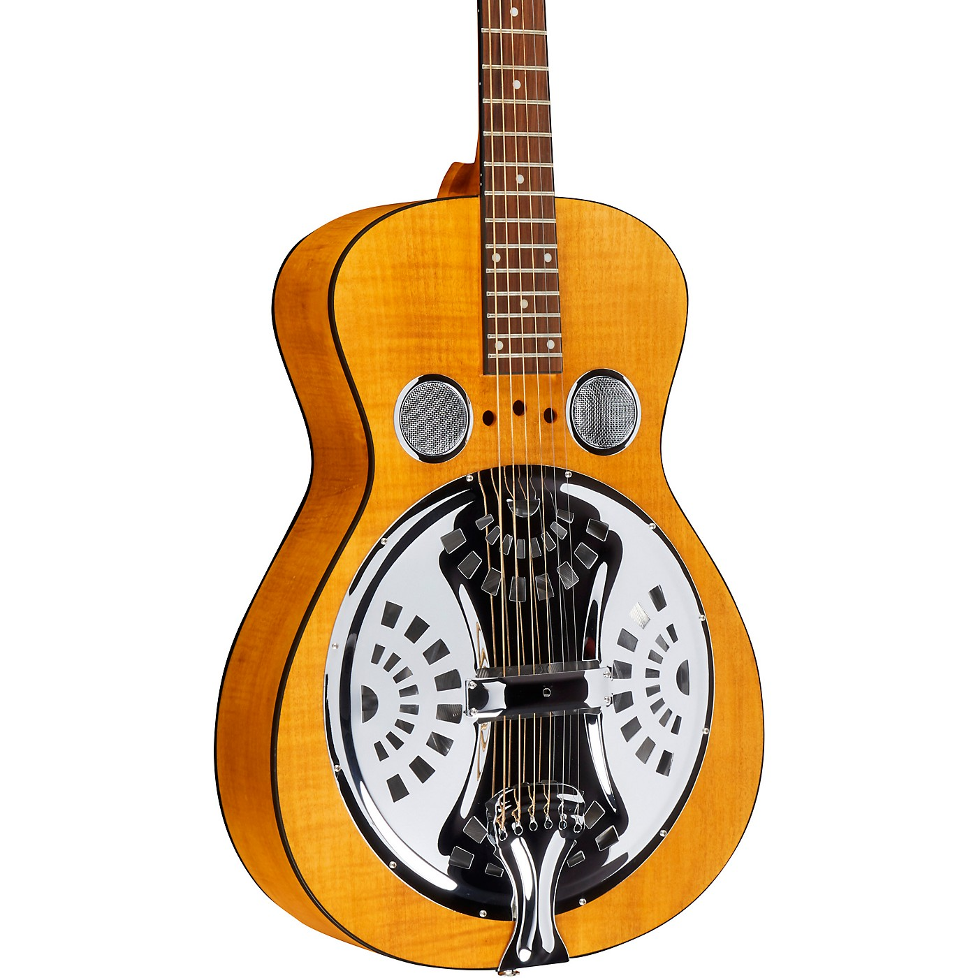 Dobro Hound Dog Deluxe Round Neck Acoustic-Electric with Pickup thumbnail