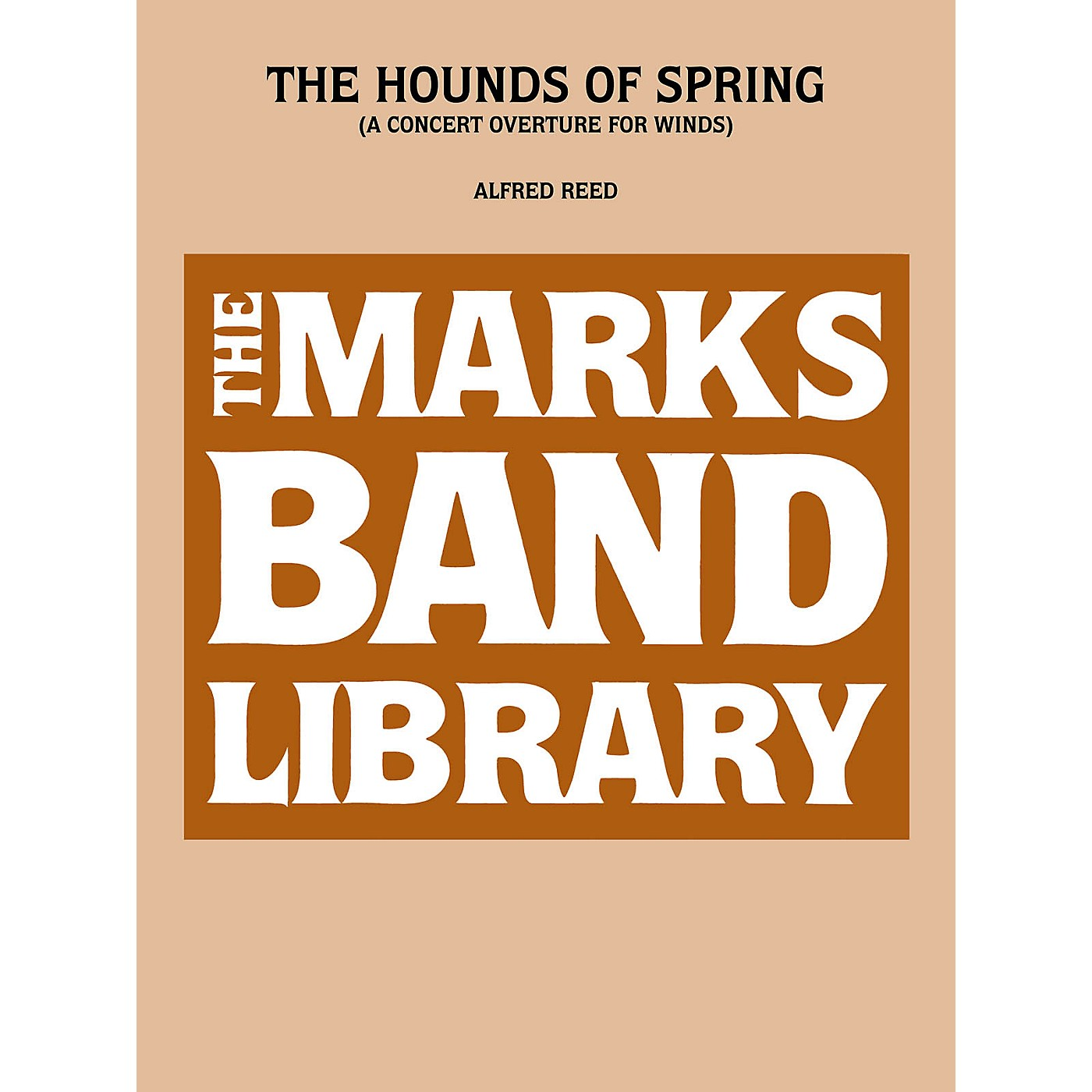Edward B. Marks Music Company Hounds Of Spring, The   A Concert Overture For Winds Full Score Concert Band thumbnail