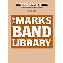 Edward B. Marks Music Company Hounds Of Spring, The   A Concert Overture For Winds Full Score Concert Band
