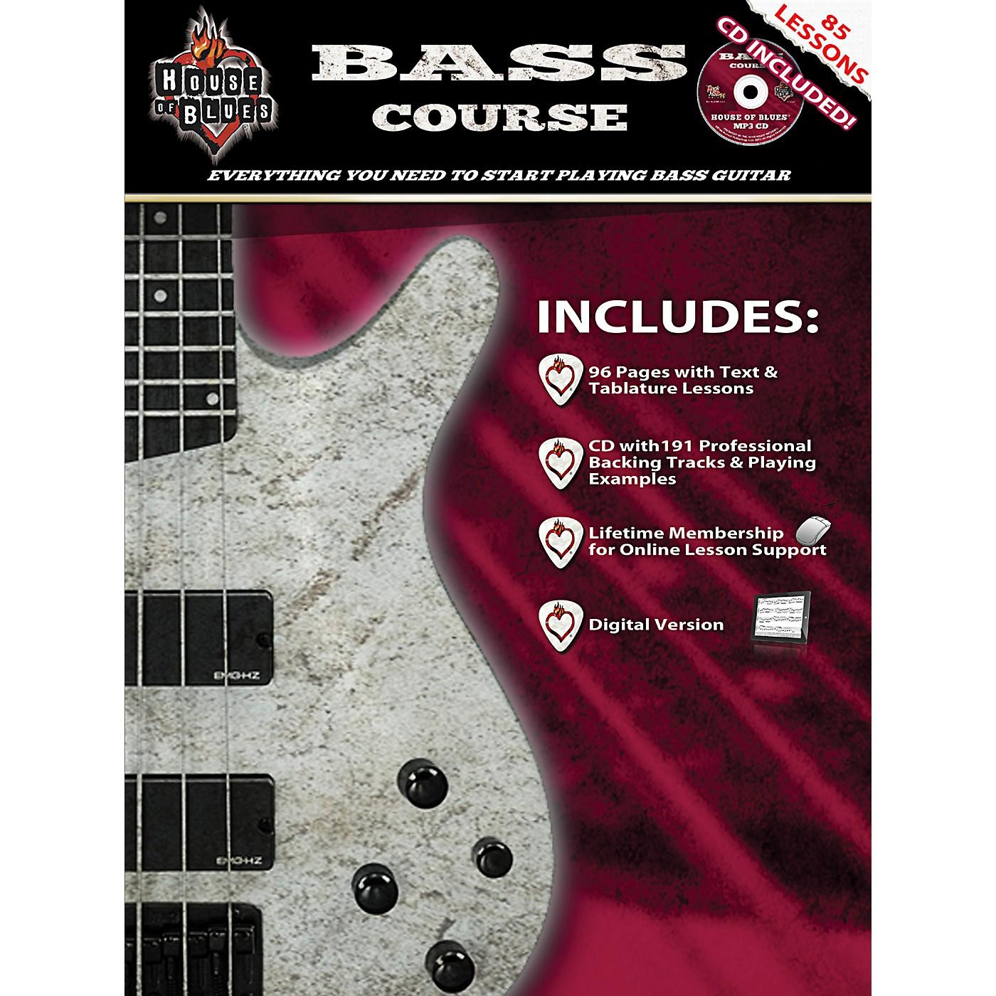 Hal Leonard House Of Blues Bass Guitar Course (Book/CD) thumbnail