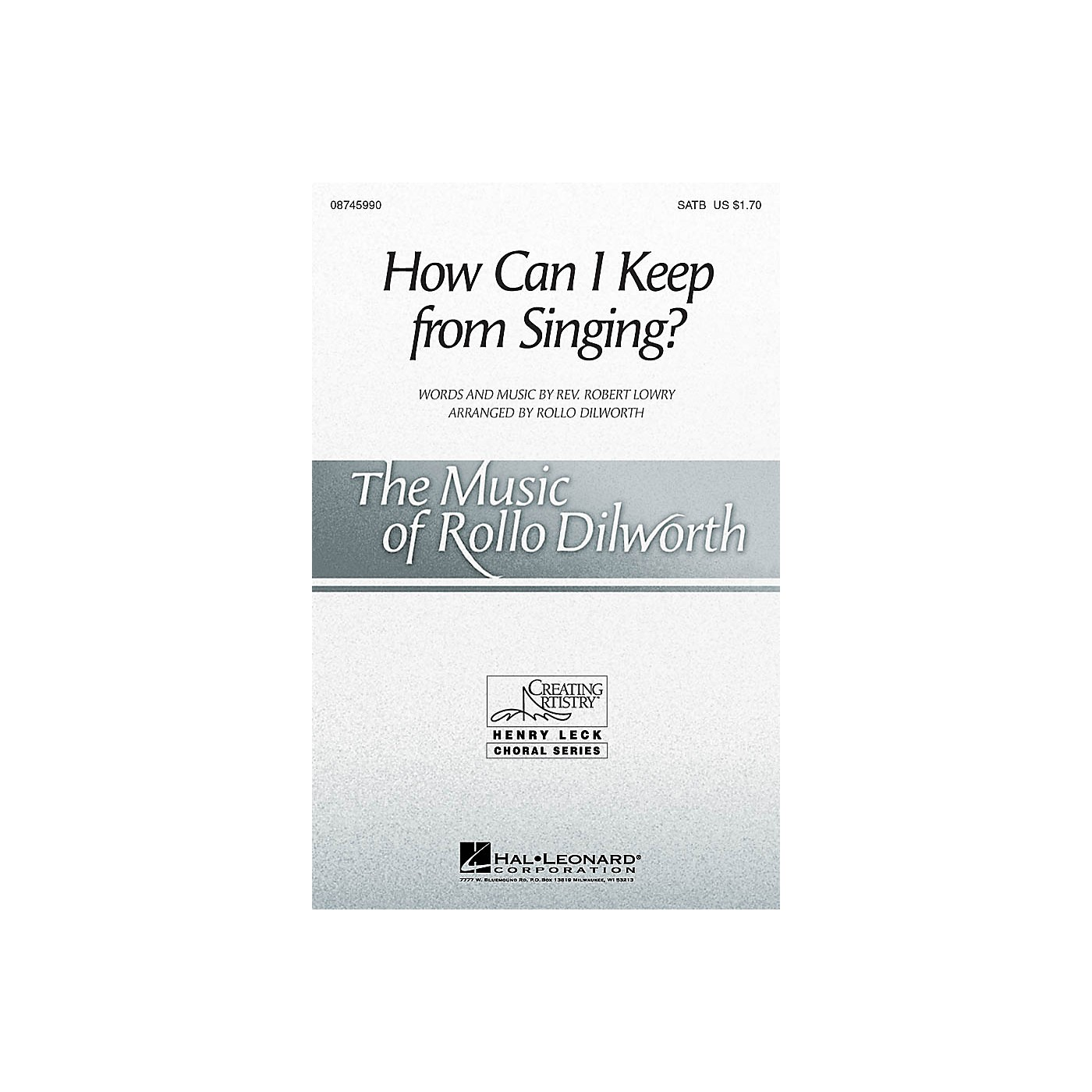 Hal Leonard How Can I Keep from Singing? SSAA Arranged by Rollo Dilworth thumbnail