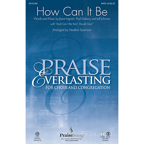 PraiseSong How Can It Be ORCHESTRA ACCOMPANIMENT by Lauren Daigle Arranged by Heather Sorenson thumbnail