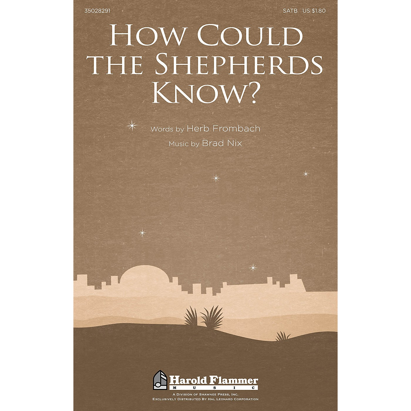 Shawnee Press How Could the Shepherds Know? SATB composed by Brad Nix thumbnail