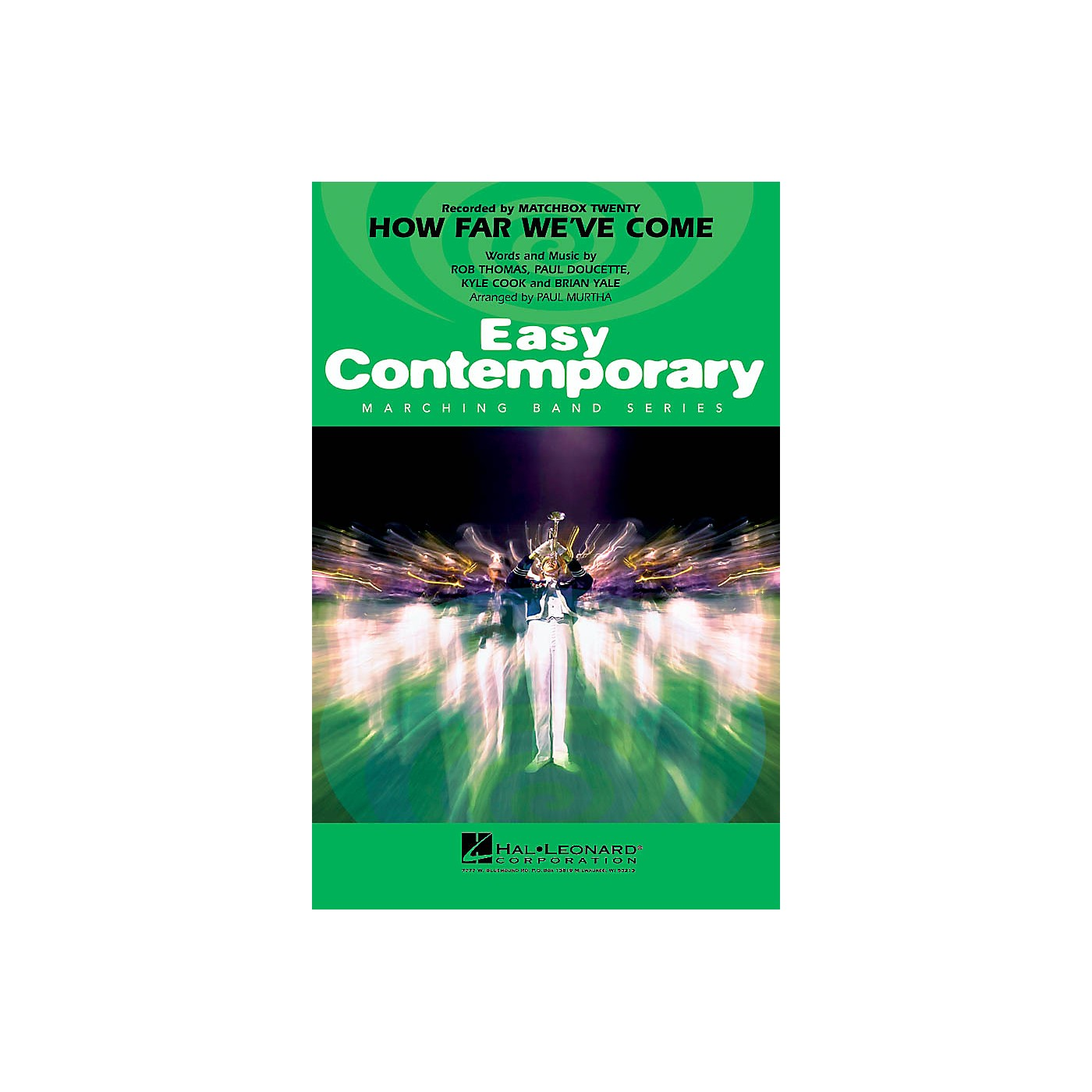 Hal Leonard How Far We've Come Marching Band Level 2-3 Arranged by Paul Murtha thumbnail