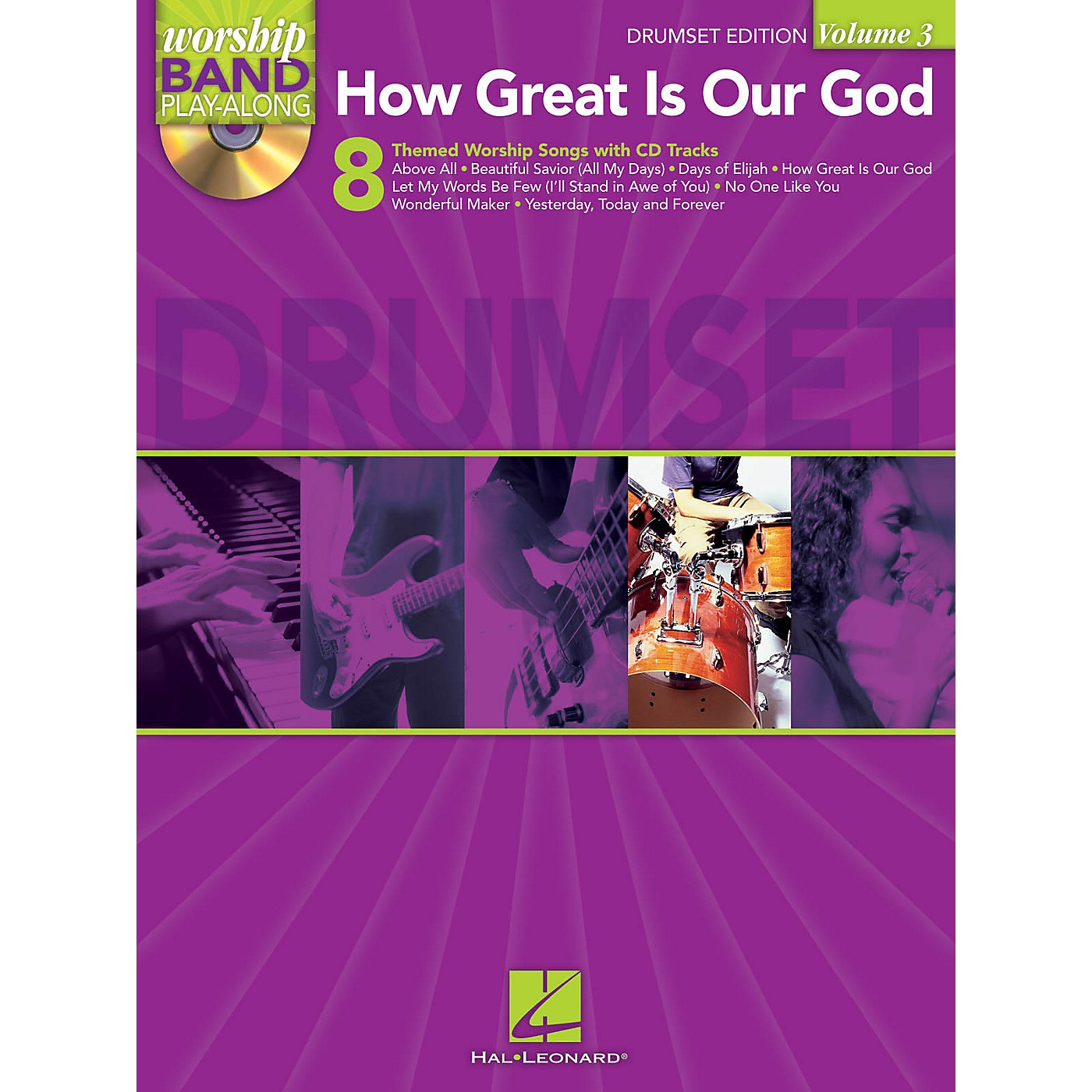 Hal Leonard How Great Is Our God - Drums Edition Worship Band Play-Along Series Softcover with CD thumbnail