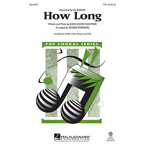 Hal Leonard How Long TTB arranged by Roger Emerson thumbnail