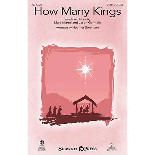 Shawnee Press How Many Kings SATB by Down Here arranged by Heather Sorenson thumbnail