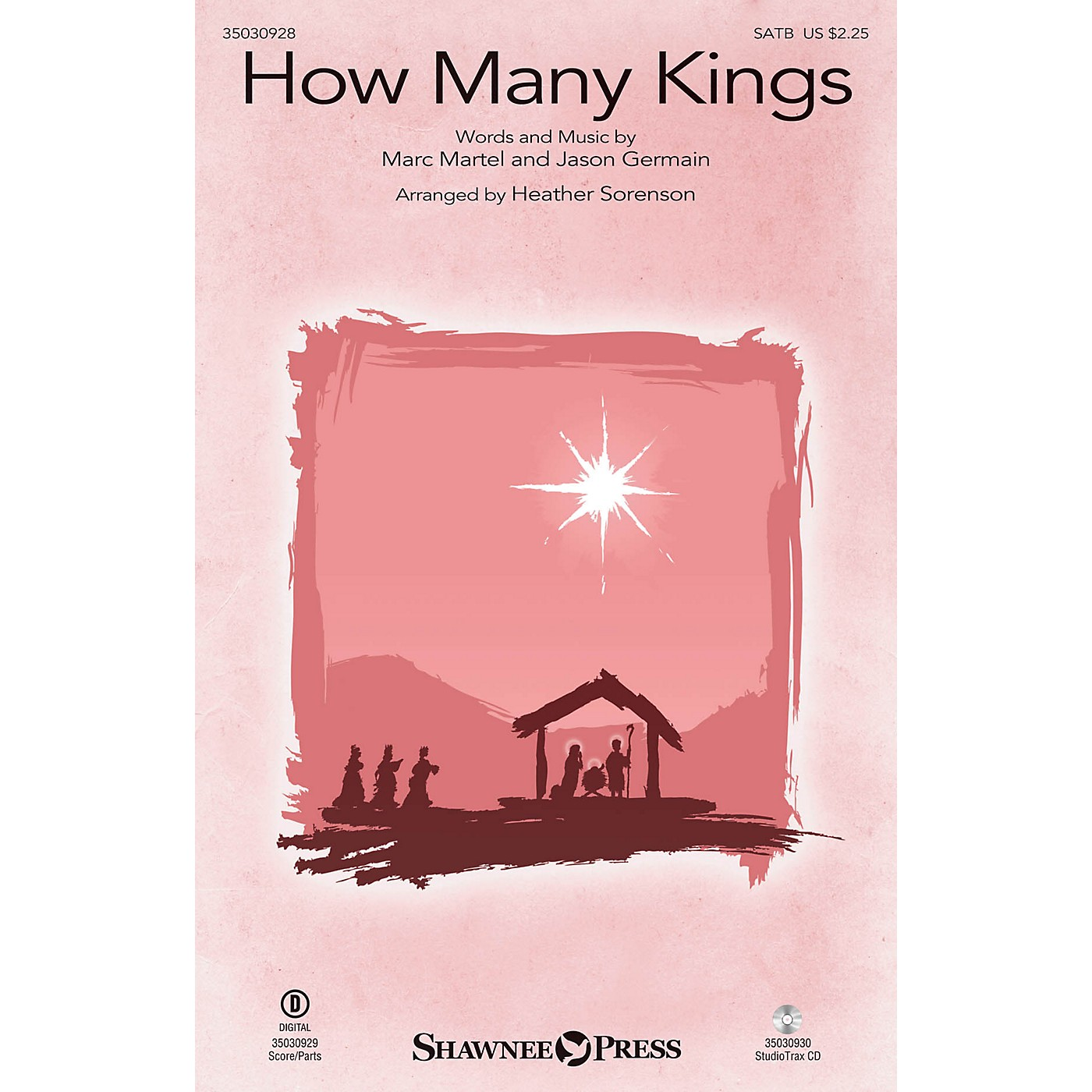 Shawnee Press How Many Kings Studiotrax CD by Down Here Arranged by Heather Sorenson thumbnail