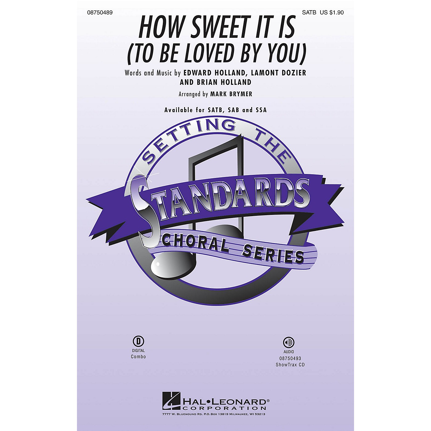 Hal Leonard How Sweet It Is to Be Loved by You SATB arranged by Mark Brymer thumbnail